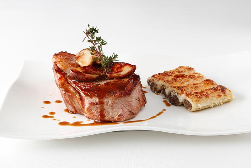 Côte de veau - restaurant Le Bouche à Oreille